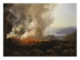 Vesuv Volcanic Eruption  1826