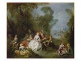 Die Freuden des Landlebens  um 1735