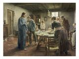 Komm Herr Jesu  Sei Unser Gast  1885