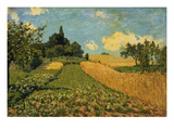 Summer Landscape (Cornfields at Argenteuil)  1873