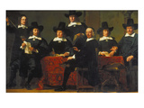 The Provosts of the Wine Merchant Guild of Amsterdam  1659