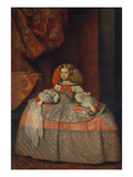 The Infanta Margarita Teresa  about 1660