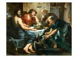 Jupiter Und Merkur Bei Philemon Und Baucis  um 1620-1625