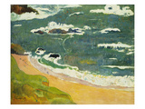 The Beach Near Le Pouldu  1889