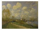 Summer at Bougival  1876
