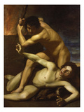 Cain Murdering Abel  about 1615