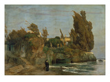 Villa by the Sea  2 Version  1865