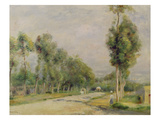 Rural Road Near Louvecienne  1895