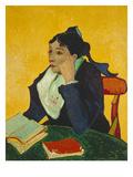 The Arlesienne (Madame Ginoux)  1888