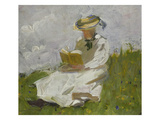 Reading Woman in the Countryside  1906