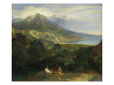 Italian Coastal Landscape  about 1670