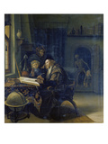 Scholar at the Study-Desk after 1665
