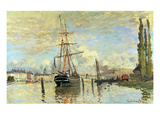 The Seine in Rouen  1874