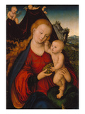 Madonna with Grapes