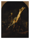 The Raising of the Cross  about 1633