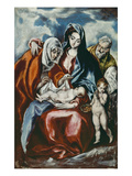 The Holy Family with Saint Anne and the Infant John the Baptist  about 1595/1600