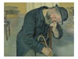 Enttaeuschte Seele  1891 (Alter Mann)