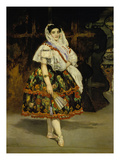 Lola De Valence (Lola Melea  Spanish Dancer)  1862