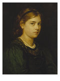 Portrait of a Girl  1876