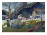 In the Village  1910