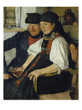 The Ill-Matched Couple  1876/77