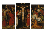 Kaisheimer Altarpiece: the Deposition from the Cross  Crucifixion and the Entombment of Christ