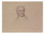 Portrait of Johann Wolfgang Von Goethe  1828
