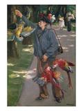 The Parrot Man  1901/1902