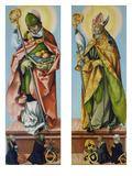 Die HllNikolaus Von Bari Und Ludwig Von Toulouse