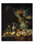 Still-Life with Moor and China Probably About 1680