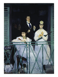 The Balcony Berthe Morisot  Fanny Claus and Antoine Guillemet  1868/69