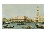 Venedig  Dogenpalast Und Marcusplatz Vom Bacino Di San Marco