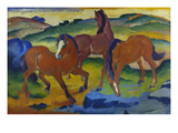 Red Horses (Grazing Horses Iv)  1911