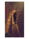The Book Worm  about 1850
