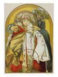 Plakat Zum Zehnten Jahrestag Des Bestehens Der Tschechoslowakischen Republik  1928
