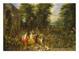 Allegorie Des Fruehlings (Flora Im Blumengarten)