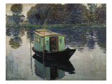 Monet's Studio-Boat  1874