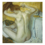 Woman at Her Toilette  1885