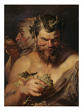 Two Satyrs  about 1615
