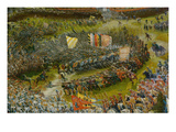 The Battle of Issus 333 VChr (The Battle of Alexander at Issus)  1529 Detail Cenre