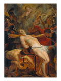 Martyrdom of St Laurence  about 1615