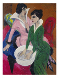 Two Women with a Washbasin (The Sisters)  1913