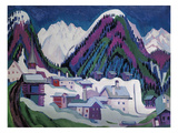 Dorf Monstein Bei Davos  1927