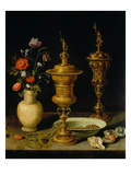 Still Life with Flowers and Goblets  1612