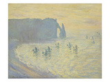 The Cliffs at Etretat  1883/86