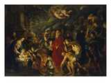 Adoration of the Magi  1608 and 1628/29 (Enlarged)