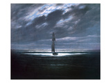 Seascape in Moonlight  1830/35