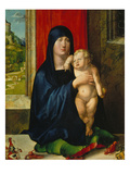 Madonna and Child (Madonna of the Family Haller)  about 1498