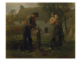 Farmer Grafting a Tree (Le Greffeur)