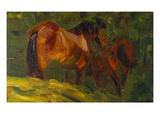 Kleine Pferdestudie I  1905